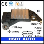 D734 DELCO auto spare parts alternator voltage regulator FOR DELCO 10464409 10480307 3211756