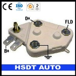 D102HD DELCO auto spare parts alternator voltage regulator for DELCO 10459004 10459008 10459009 10463072 10463074 10497177